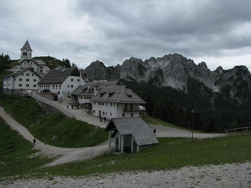 Sanktuarium Monte Lussari i Cima del Cacciatore